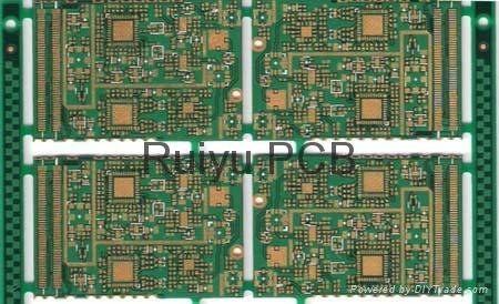 8 layer blind hole BGA board 1