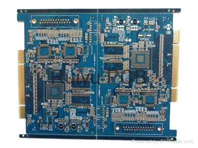 12 layer immersion gold board. 2