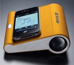無線互感應播放器便攜式MP3禮品音箱