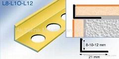 Tile Trims- Metal tile trim - Ceramic tile trim - Tile edging