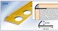 Tile edge trim - Chrome tile trim - Tile installation trim