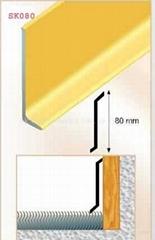 Aluminium skirting board