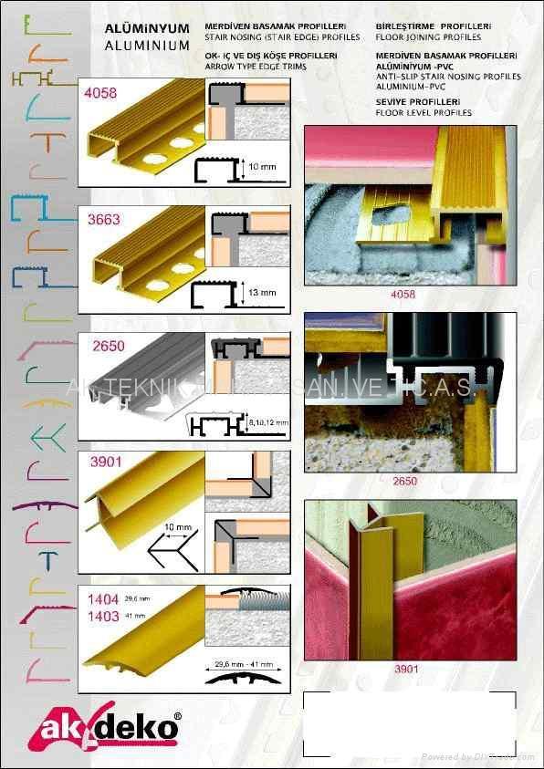 Tile Trims Metal Tile Trim Ceramic Tile Trim Tile Edging Turkey