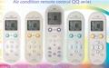 Air condition remote control QQ series