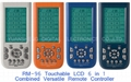 Touchable LCD 6 in 1 Remote Controller