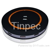 Tinpec USB2.0 12Port HUB with 3.5A power adapter