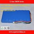 12V lithium battery 6600mAh 18650 3S3P