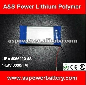 lipo battery 14.8V 3000mAh for RC toys 1