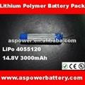 lipo battery 14.8V 3000mAh for RC toys 2