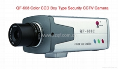 Color CCD Standard Box Type Security CCTV Camera