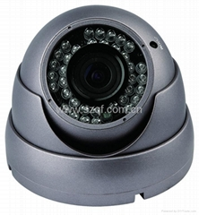 Color CCD Day and Night Varifocal Lens IR Dome Security CCTV Camera