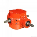 Grain Auger bevel gearbox for agricultural machinery