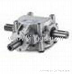 铝制齿轮箱