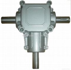 bevel gearbox for agricultural machinery