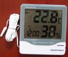 THC-03A digital big display Hygro-thermometer clock