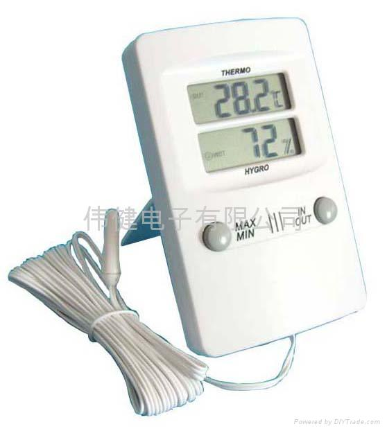 TH08 digital IN/OUT thermometer hygrometer 4