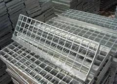 电镀锌钢格板