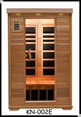 2 people infrared sauna room