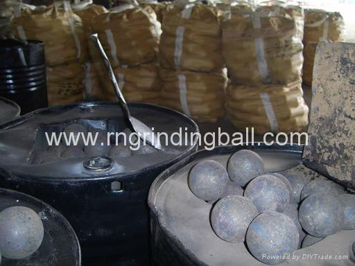 Steel Grinding Media Ball 1