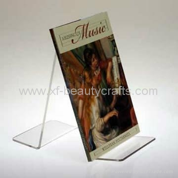 Tabletop File Holder Clear Acrylic Brochure Holder 3
