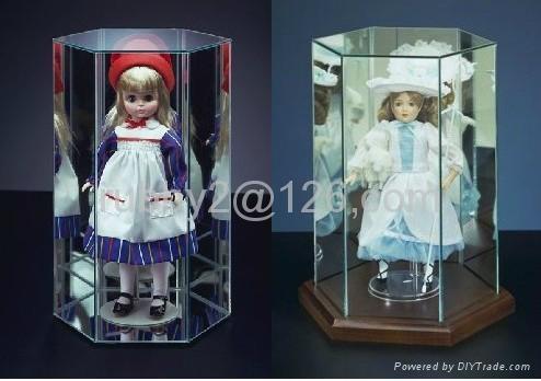 Barbie Doll Accessories Acrylic Display Showcase  3