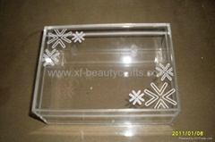 Acrylic small jewelry box /simple box/small storage box