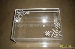 Acrylic small jewelry bo