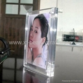 Magnetic/Screw clear acrylic &crystal photo /picture frame