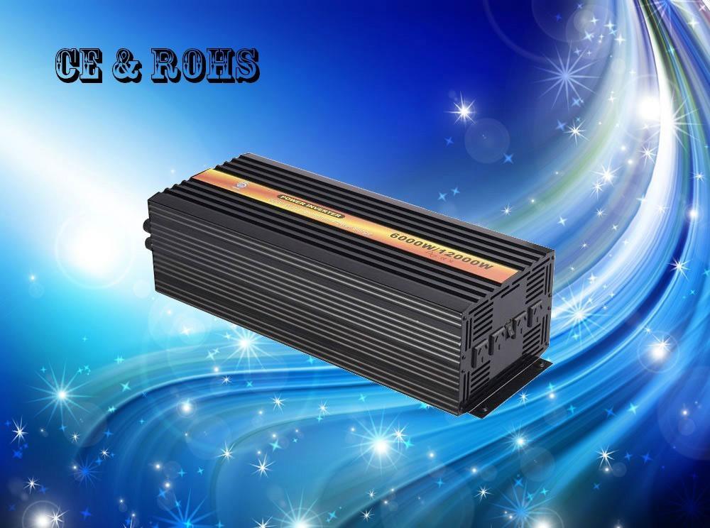 6000W DC12V AC110V  pure sine wave inverter 1