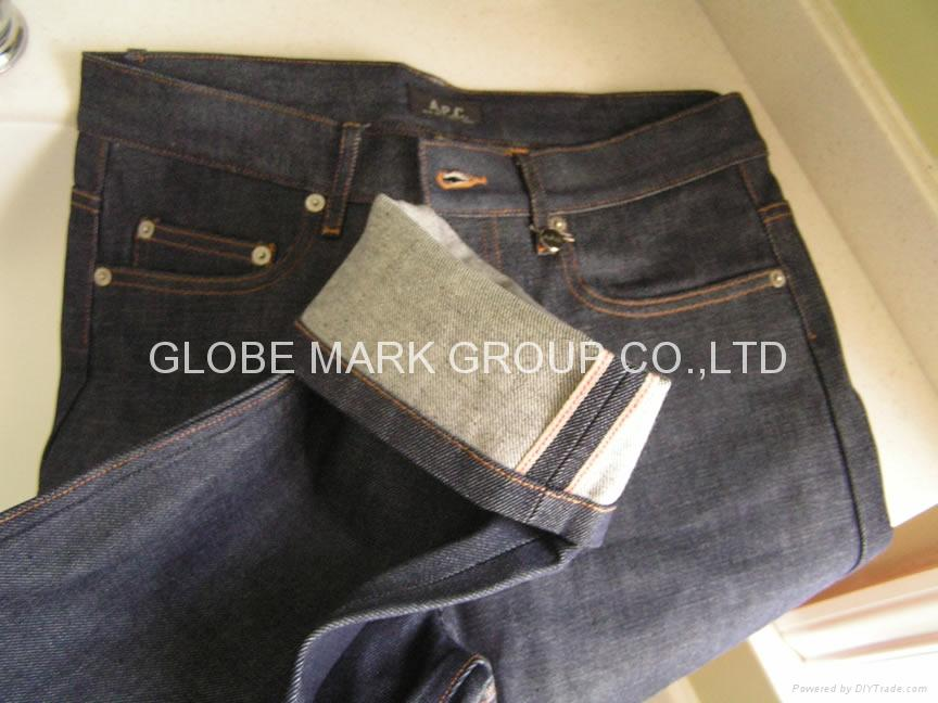 100%COTTON RED-SELVAGE DENIM 1