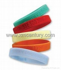 power balance silicone bracelets with debossed logo