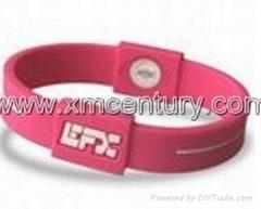 EFX silicone bracelets