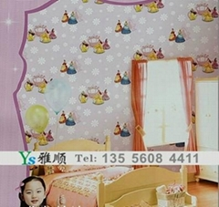 儿童环保墙纸
