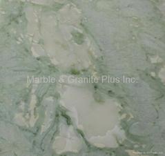 Light Irish Green (darker shade), Boca Green, Glacier Green