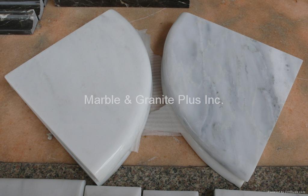 Marble Corner Shelf