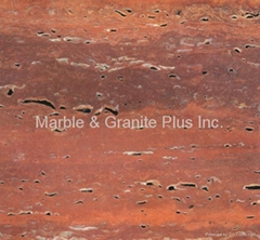 Travertino Rosso / Red Travertine