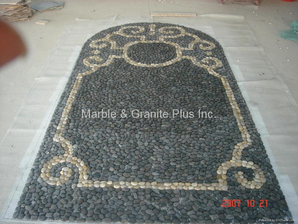 chinese pebble mosaic