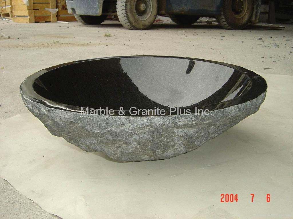 Marble Bowl Sink : granite bowl sink with natural price min order keywords bowl sink ...