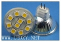 LED SPOTLIGHT GU10 SMD 2W