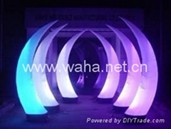 party favor/event decoration /inflatable cones with led lighting