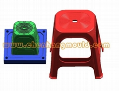 household plastic injection stool mould