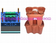 household plastic injection flowerpot mould