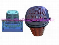 plastic injection household basket mould