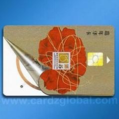 Dual Interface card--Hybrid card