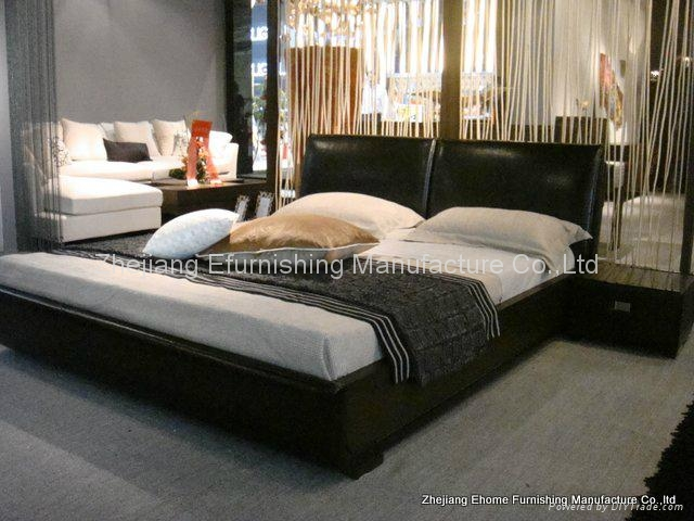 Timmy Leather Bedroom Sets - Ehome (China Manufacturer) - Bedroom ...