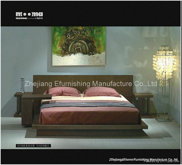 Queen Size Bedroom Furniture (MM-B106) 1
