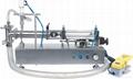 lotion semi-auto liquid filling machine