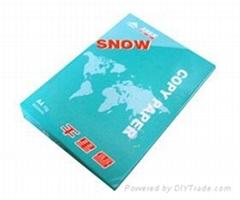Snow copy paper