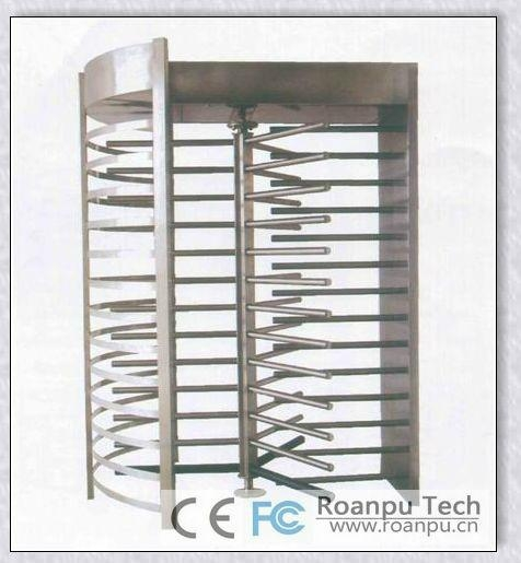 Full height turnstile electronic barriers access control