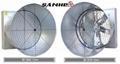 DJF(e)series Double-door Cone Fan(Butterfly Cone Fan)